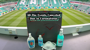 all the events canceled due to coronavirus